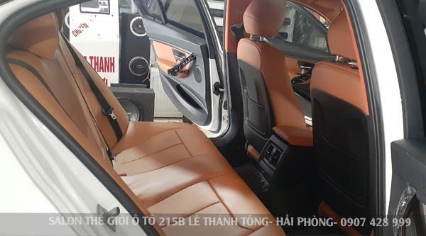 May ghế da xe BMW