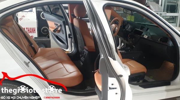Ghế da siêu đẹp xe BMW