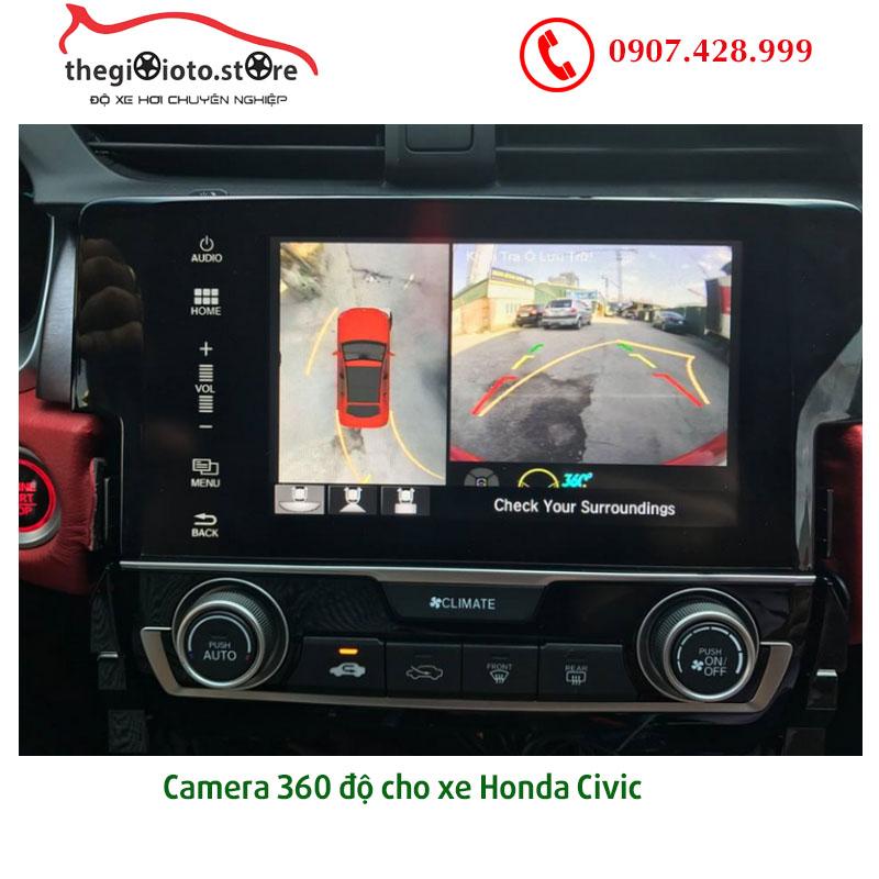 Camera 360 độ xe hơi