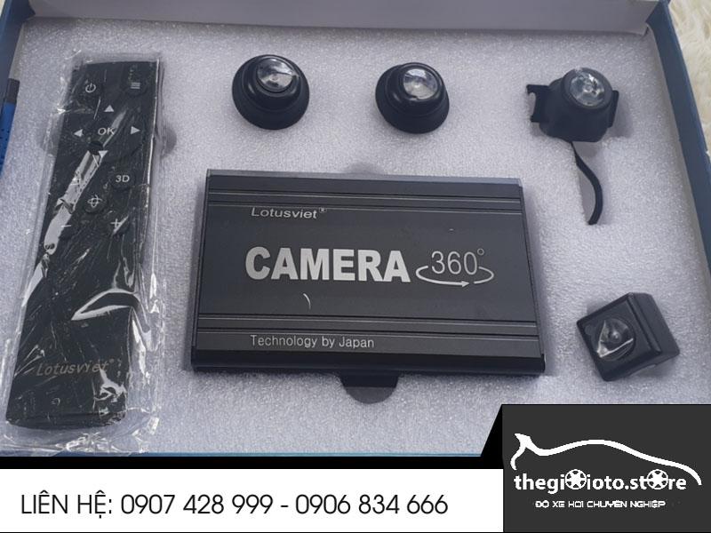 Camera 360 độ Lutus Việt
