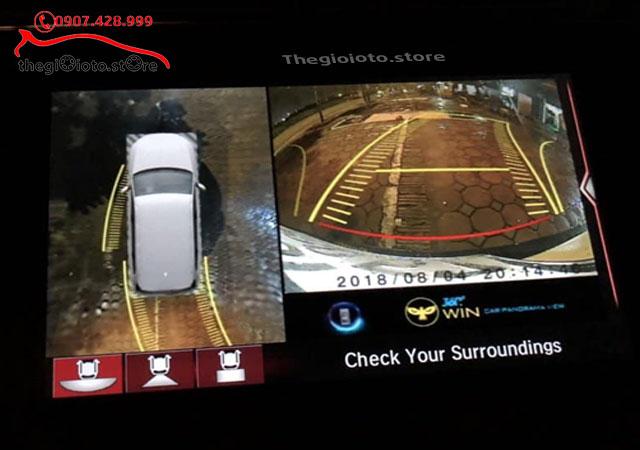 Camera 360 độ xe ô tô