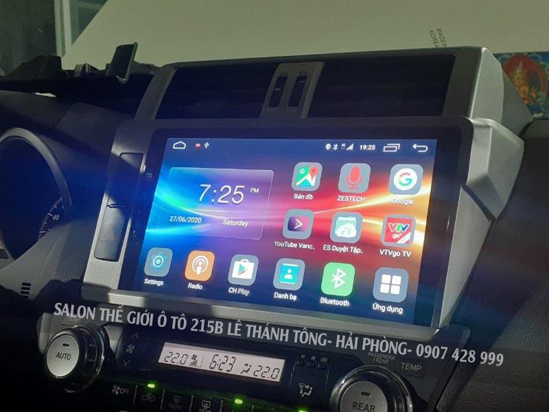 Màn hình Z500 lắp cho xe Prado