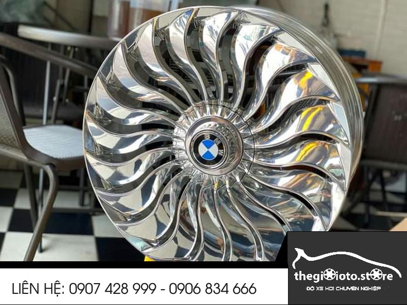 Lazang cực chất xe BMW