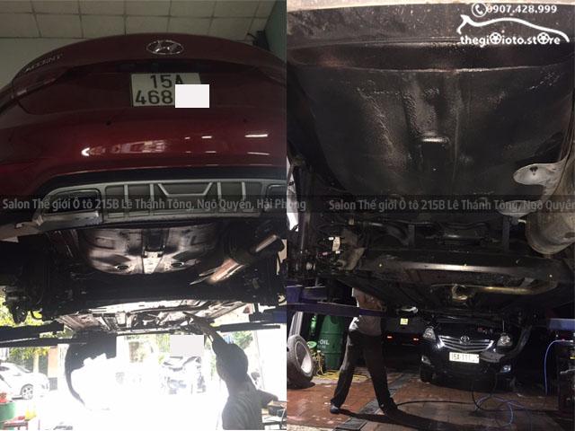 Sơn phủ gầm chống ồn xe ô tô