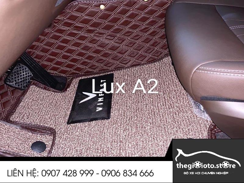 Thảm sàn da 6D xe Vinfast Lux