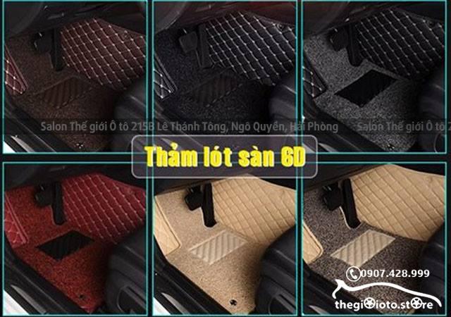 Các mẫu thảm lót sàn xe ô tô